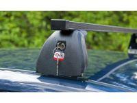 Багажник на крышу Opel Meriva B 2010-..., Amos Beta, стальные прямоугольные дуги