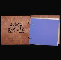 книга пожеланий дерево с сердечками