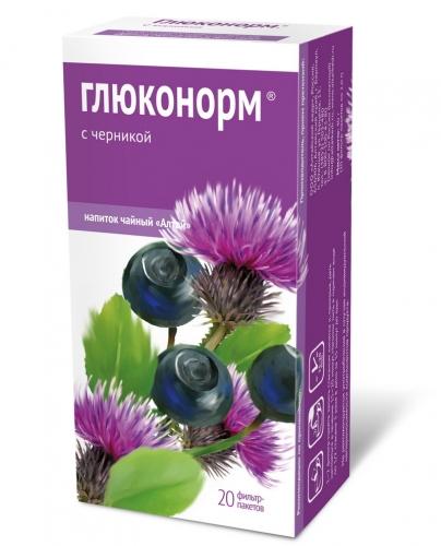 Напиток чайный «Глюконорм. С черникой»