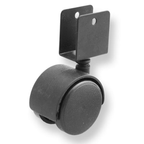Ролик мебельный D 40 мм с U-образным креплением