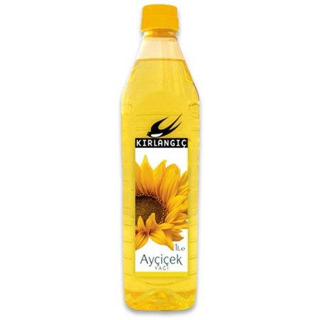 Kırlangıç Подсолнечное масло в Пластиковых бутылках 1л