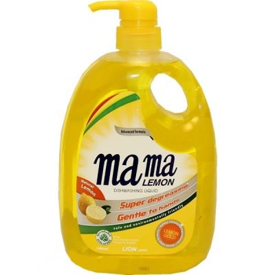 Lion Mama Lemon Gold Концентрированное средство для мытья посуды и детских принадлежностей с ароматом Лимона 1000 мл