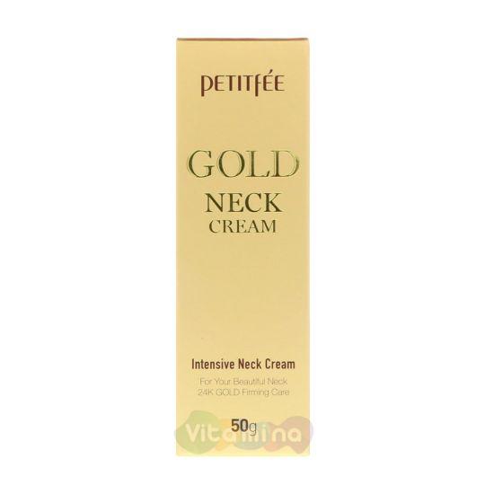 Petitfee Омолаживающий крем для шеи с золотом Gold Neck Cream