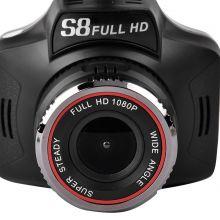 Автомобильный видеорегистратор с антирадаром Blackbox S8