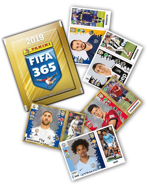 """Наклейки """"Panini FIFA 365-2019"""", 1 пакет"""