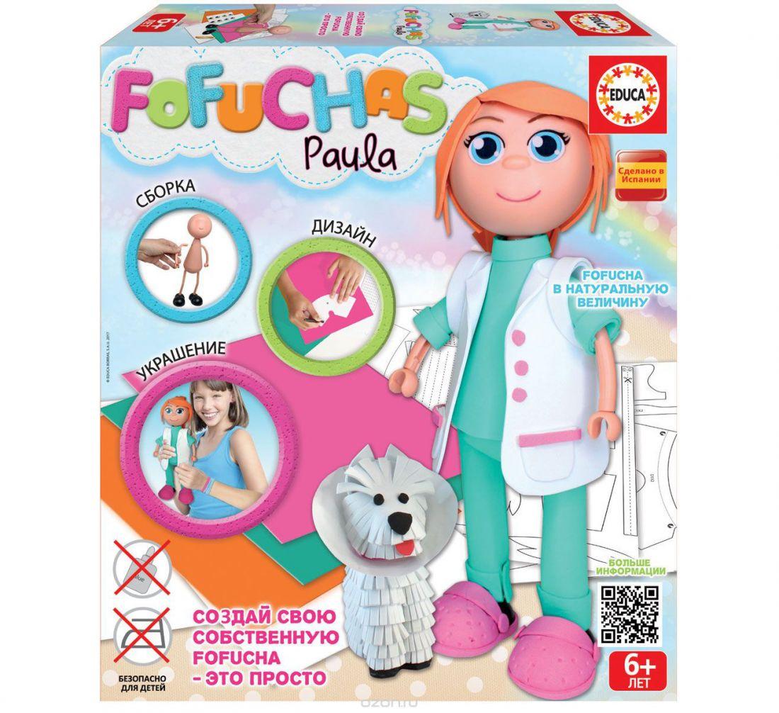Фофуча Паула - набор для творчества в виде куклы