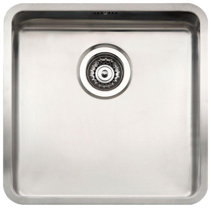 Интегрированная кухонная мойка Reginox OHIO 40x40 Cuadrat LUX OKG L
