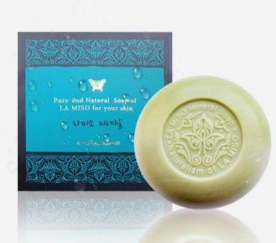 Натуральное косметическое мыло La miso Mineral Soap 110 гр х 2 шт