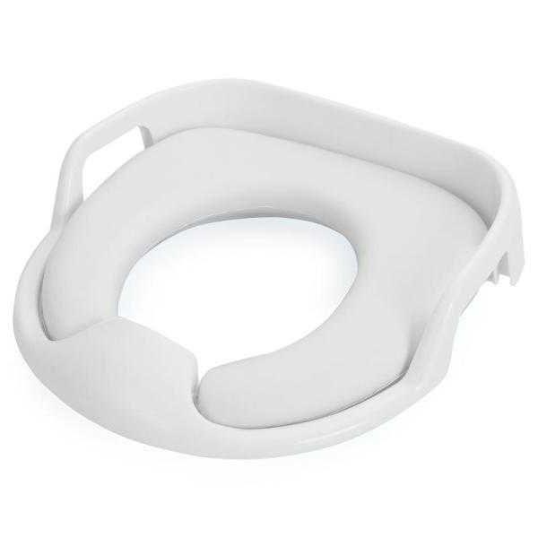 Детское мягкое сиденье для унитаза COMFY TRAINER, цвет белый
