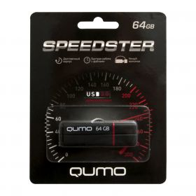 64GB USB-флеш накопитель QUMO USB 3.0 SPEEDSTER черный