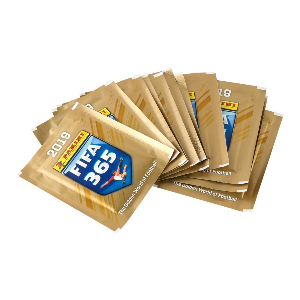 """Наклейки """"Panini FIFA 365-2019"""", 50 пакетов"""