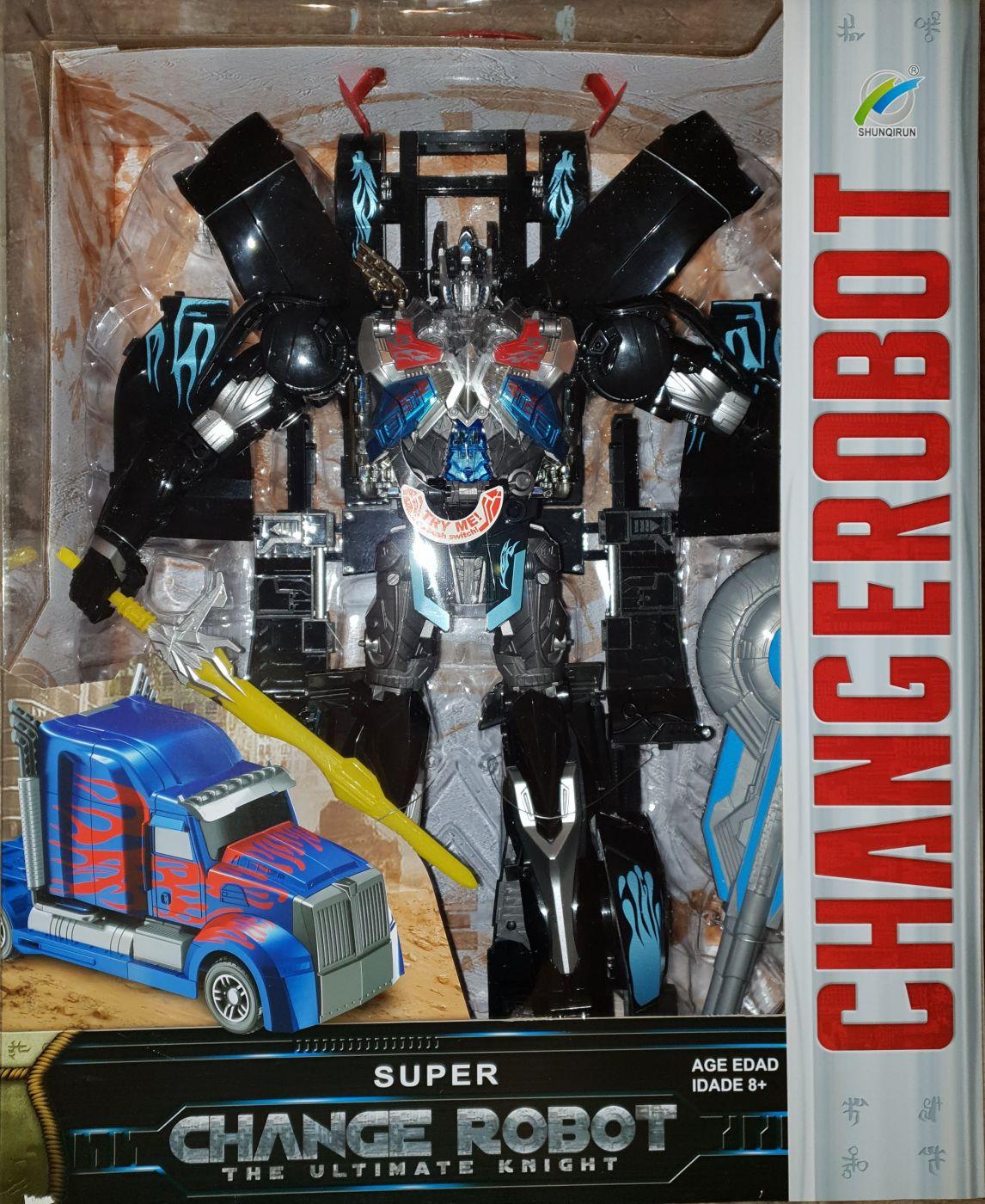 32-2 Changed the Samurai огромный робот игрушка трансформер высота 48 см.
