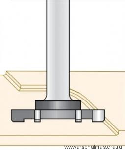 Фреза для выравнивания поверхности СЛЭБ 42x6.5x83x8 Dimar 1601045