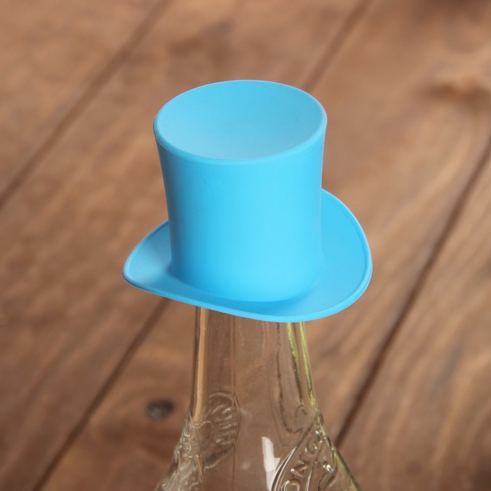 "Пробка для бутылок ""Шляпа"" Silicone Bottle Stoppers"