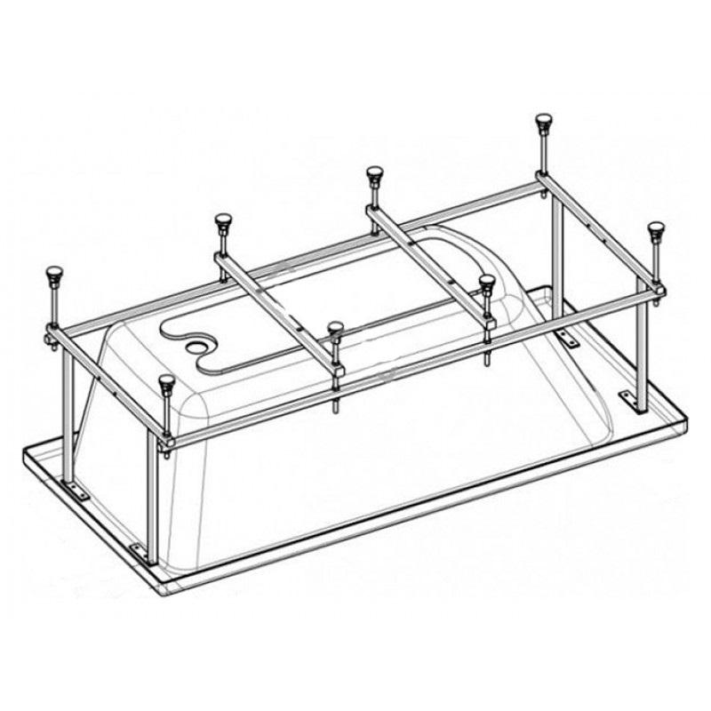 Монтажный комплект к акриловой ванне ROCA HALL ZRU9302770 170х75 см