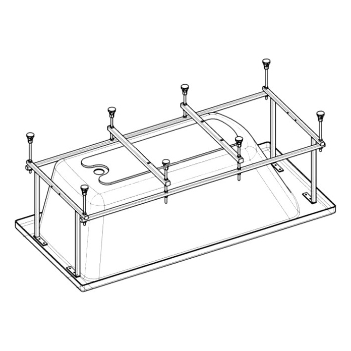 Монтажный комплект для ванны Roca Sureste 150х70 ZRU9302779