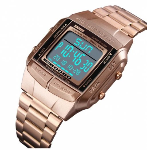 Часы наручные Skmei 1381 ЗОЛОТО