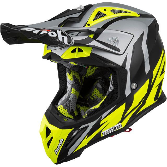 Airoh - Aviator 2.3 Great Yellow Matt шлем, желтый матовый