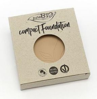 PuroBio - REFILL/Компактная тональная основа 02 / Compact Foundation pack 9 гр.