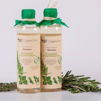 """ОрганикЗон - Шампунь """"Очищение и нормализация"""" для жирных у корней у сухих на кончиках волос"""