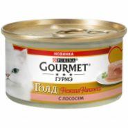 Gourmet Gold Нежная начинка Лосось конс д/кош 85 г