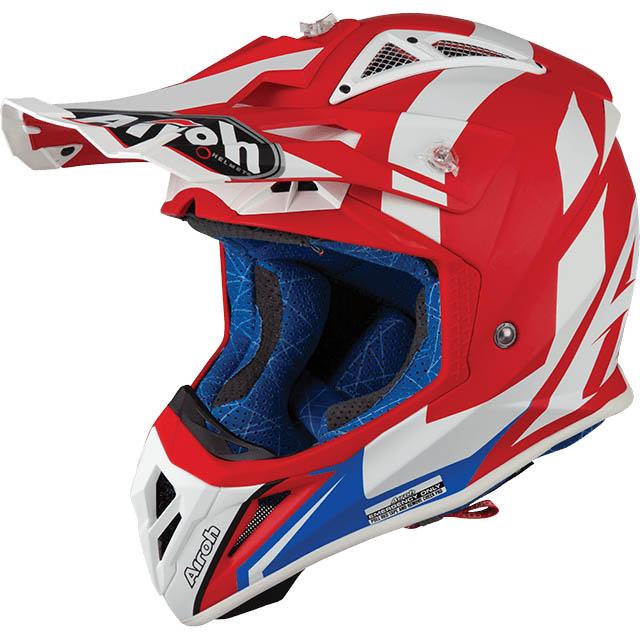 Airoh - Aviator 2.3 Bigger Red Matt шлем, красный матовый