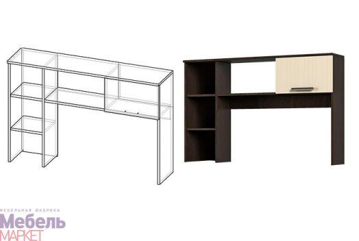Спальня Светлана - Надставка к столу (венге/дуб)