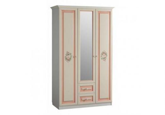 "Шкаф 3-створчатый с ящиками ""Алиса"" (1284х593х21498)"