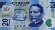 Мексика 20 песо 2006 UNC Пресс