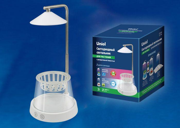 Светильник для рассады и цветущих растений  ULT-P36-3W/4000K+SPSB IP40
