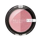 """Relouis Румяна компакт. """"PRO blush duo"""" № 202 2-х цв. (72 роз.лилия/74 букет сирени), 5г"""