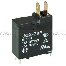 Реле JQX 78F 12в 16А