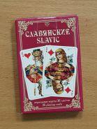 Коллекционные игральные карты СЛАВЯНСКИЕ, 36 шт. Вариант 1