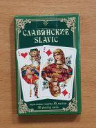 Коллекционные игральные карты СЛАВЯНСКИЕ, 36 шт. Вариант 2