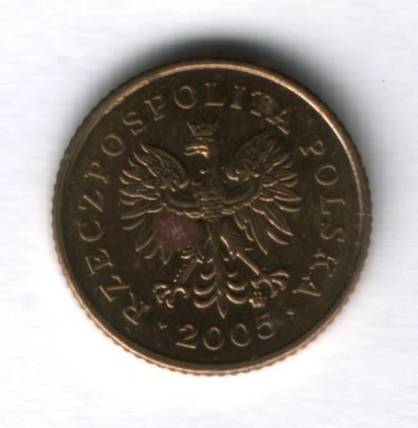 1 грош 2005 года Польша