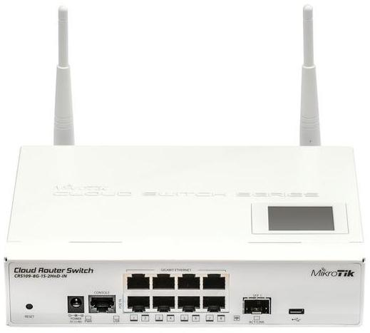 Wi-Fi адаптер MikroTik CRS109-8G-1S-2HnD-IN