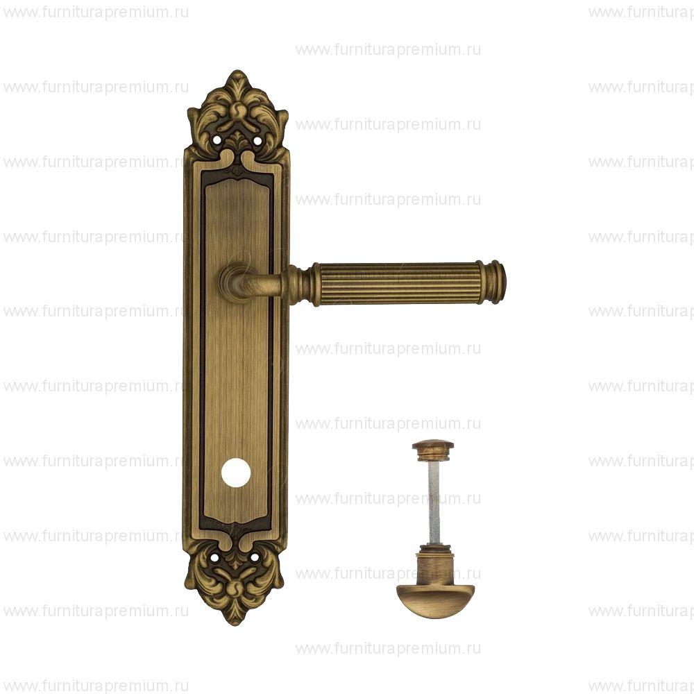 Ручка на планке Venezia Mosca PL96 WC-2