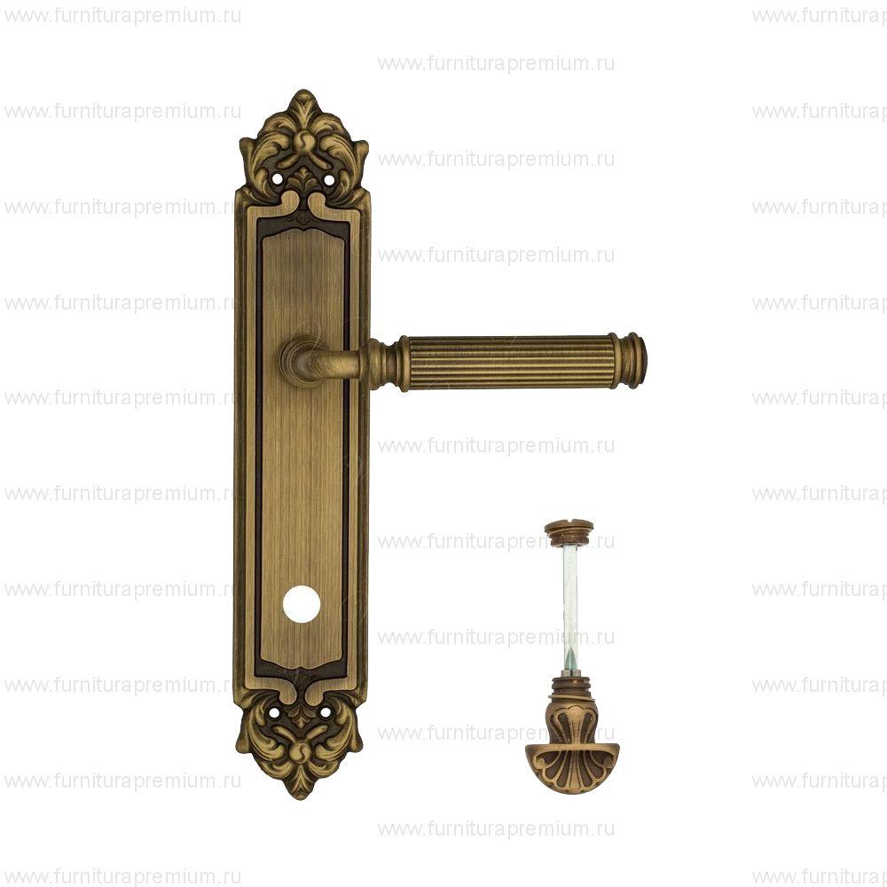 Ручка на планке Venezia Mosca PL96 WC-4