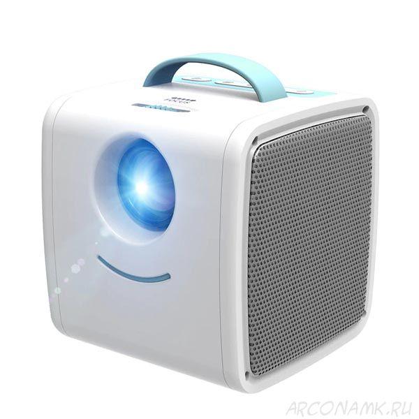 Детский портативный LED проектор Kids Story Q2