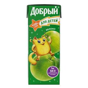 Сок Яблочный 0.2л
