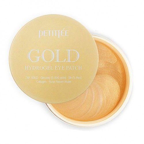 [PETITFEE] Набор патчей для век гидрогел. ЗОЛОТО Gold Hydrogel Eye Patch, 60 шт