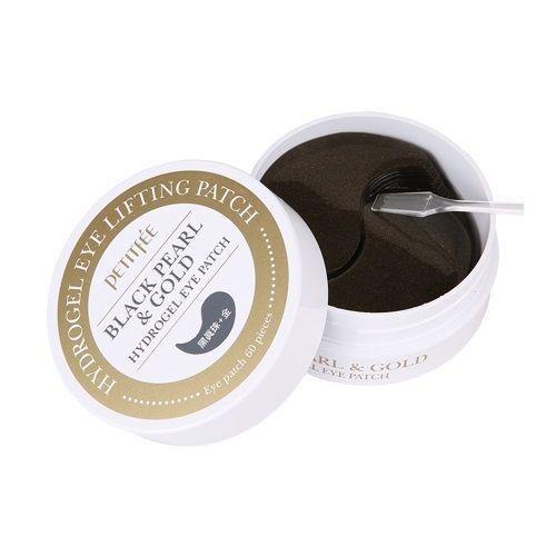 [PETITFEE] Набор патчей д/век гидрогел. ЖЕМЧУГ/ЗОЛОТО Black Pearl&Gold Hydrogel Eye Patch, 60 шт