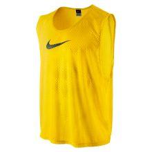Футбольная манишка Nike Team Scrimmage Swoosh Vest жёлтая