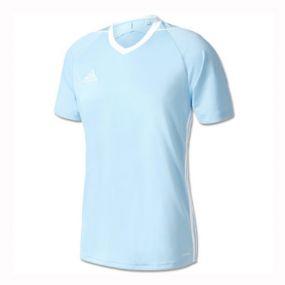 Детская игровая футболка adidas Tiro 17 голубая