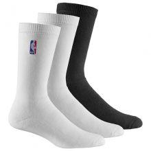 Носки adidas NBA Socks 3 Pairs белые