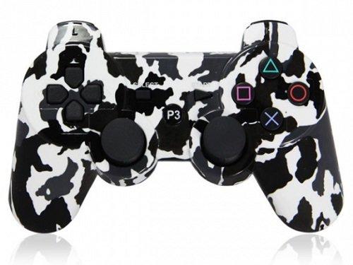 Геймпад для Playstation 3 Зимний камуфляж Джойстик для PS3 беспроводной Wireless Controller