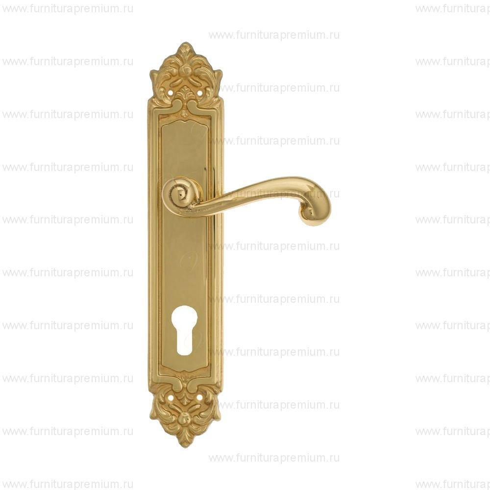 Ручка на планке Venezia Carnevale PL96 CYL