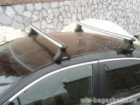 Багажник на крышу Honda Accord 7 2002-07, Атлант, аэродинамические дуги
