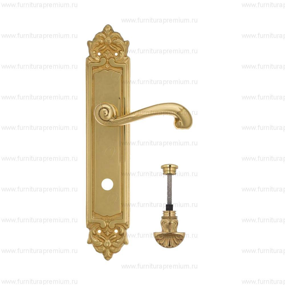 Ручка на планке Venezia Carnevale PL96 WC-4