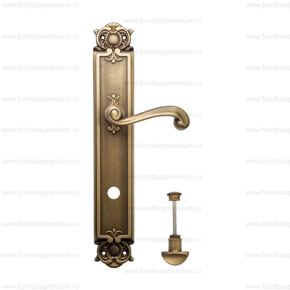 Ручка на планке Venezia Carnevale PL97 WC-2